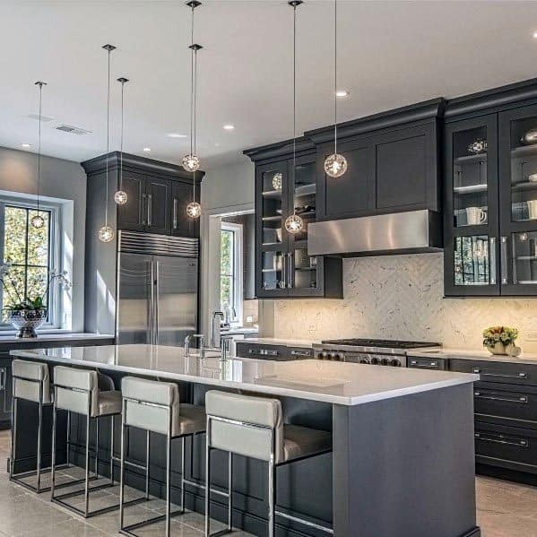 Luxury Grey Kitchen