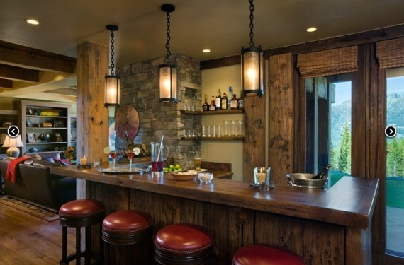 Charming Luxury Home Bar Deisgns. Lounge Bar Design