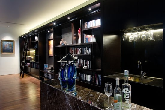 luxury home bar ideas and design - Bar Designs For House