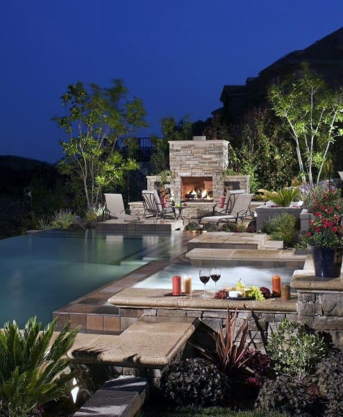 Top 60 Best Cool Backyard Ideas - Outdoor Retreat Designs on Home Backyard Ideas id=15552