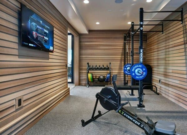 Luxury Home Gym Flooring