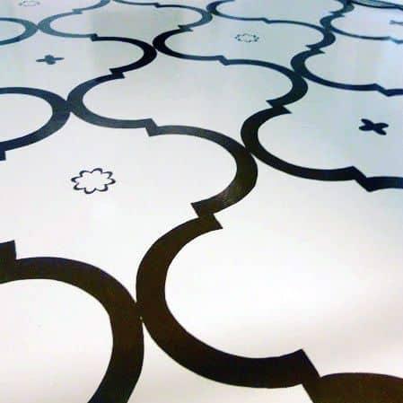 Luxury Home Ideas Painted Floor