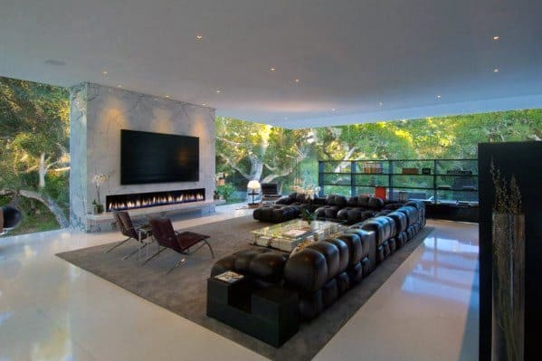 Luxury Home Interior Design Living Room Ultimate Bachelor Pad