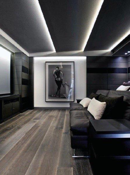 Luxury Home Theater Lighting Ideas