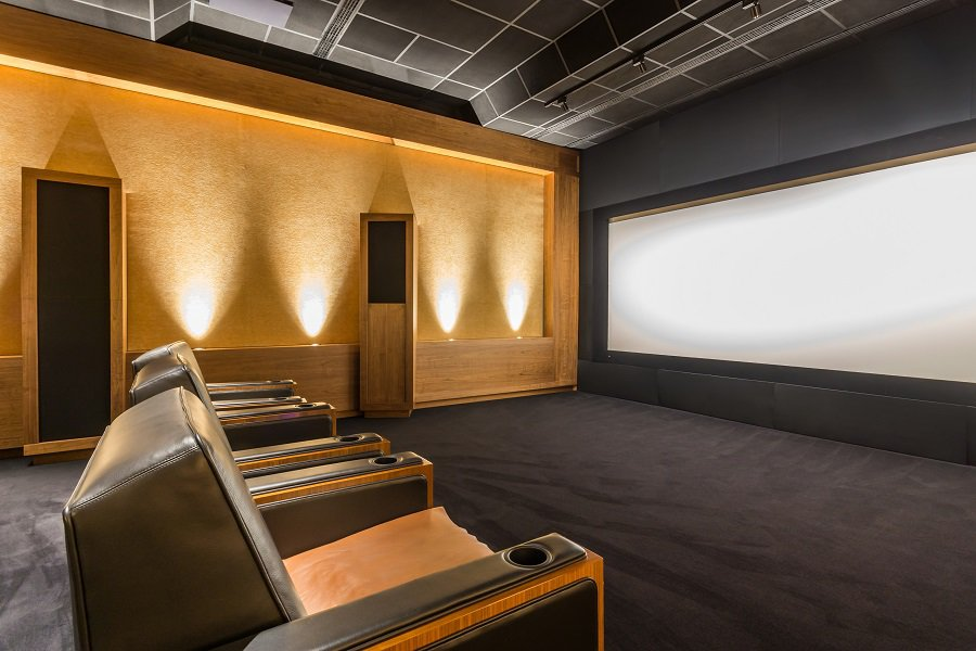 Cool Home Theater Seating Design Ideas