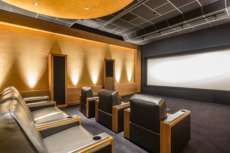 Cool Home Theater Seats Design Ideas Tan Long Couches