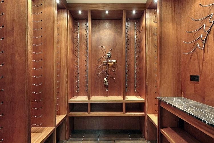 Luxury Home Wine Cellar Basement Storage