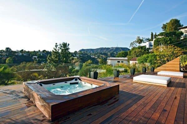 Luxury Hot Tub Deck Ideas