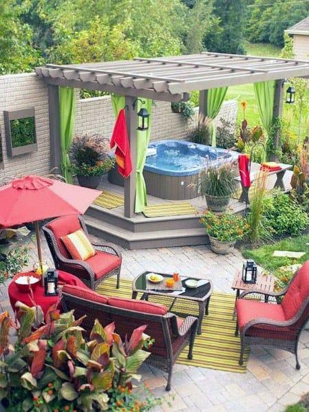 Luxury Hot Tub Deck