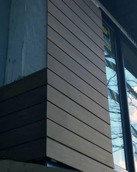 Luxury House Siding Ideas Black Wood
