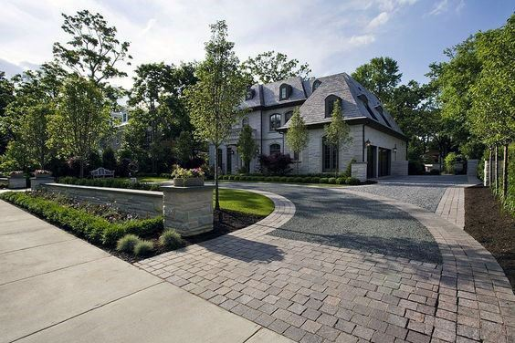 Luxury Ideas For Paver Driveway Landscaping Exterior