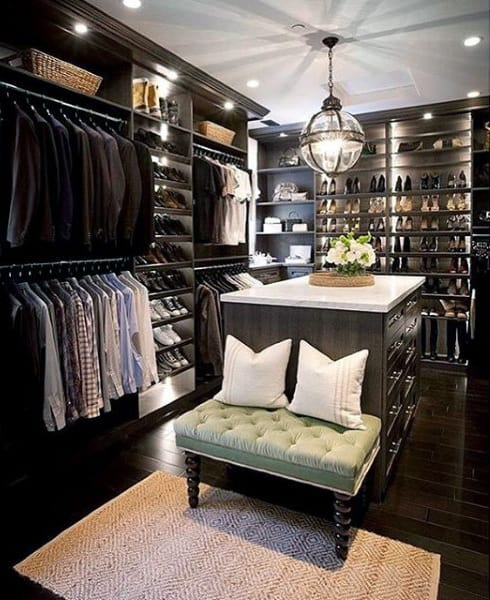 21 Best Home Office Design Ideas For Men: Top 100 Best Closet Designs For Men