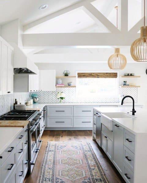 Kitchen Cabinet Hardware Pictures: Top 70 Best Kitchen Cabinet Hardware Ideas