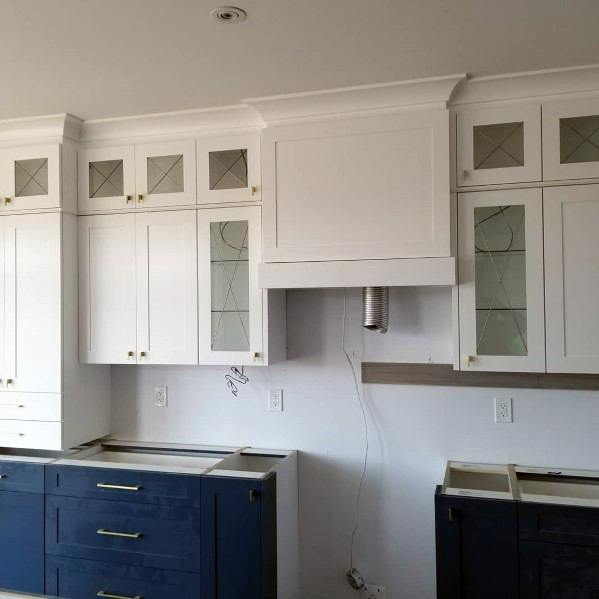 Luxury Kitchen Crown Molding