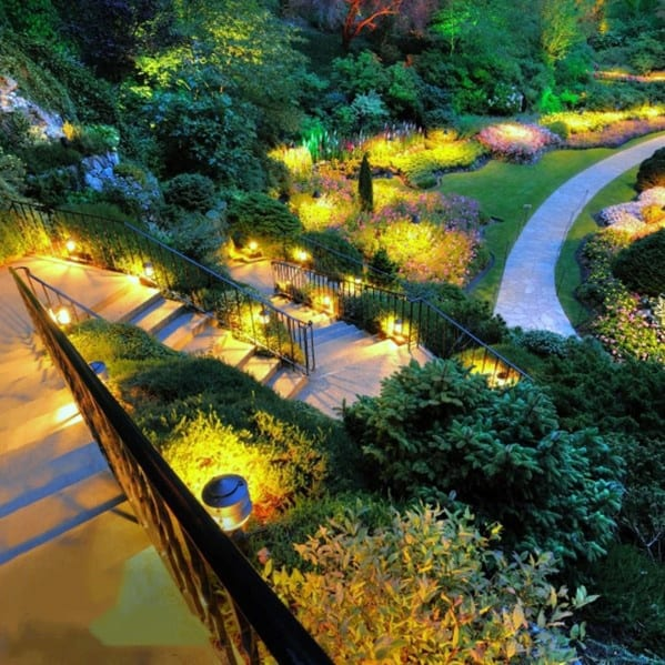 Luxury Landscape Lighting Backyards