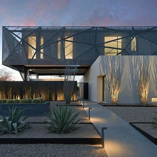 Luxury Landscape Lighting Ideas Modern Front Of House