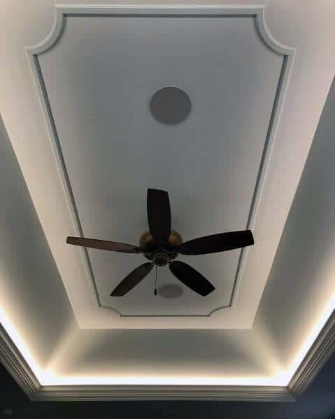 Luxury Led Strip Crown Molding Trey Ceiling Ideas