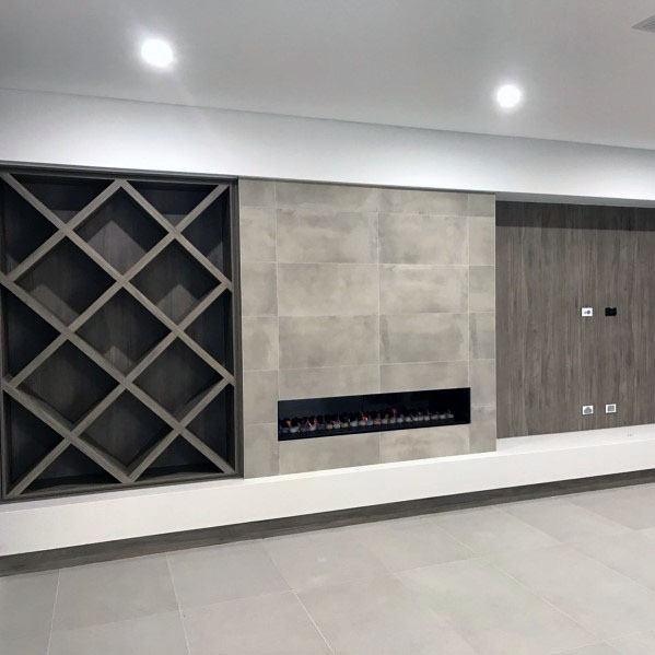 Luxury Linear Fireplace Ideas
