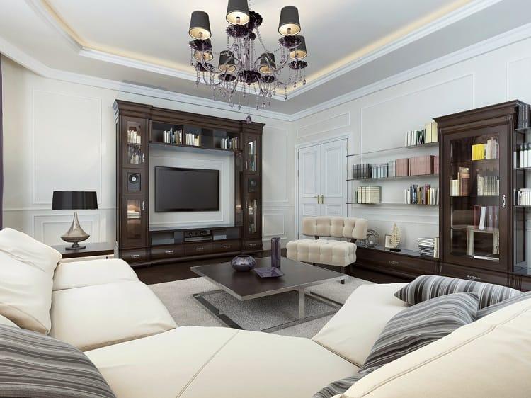 Luxury Living Room Entertainment Center Ideas