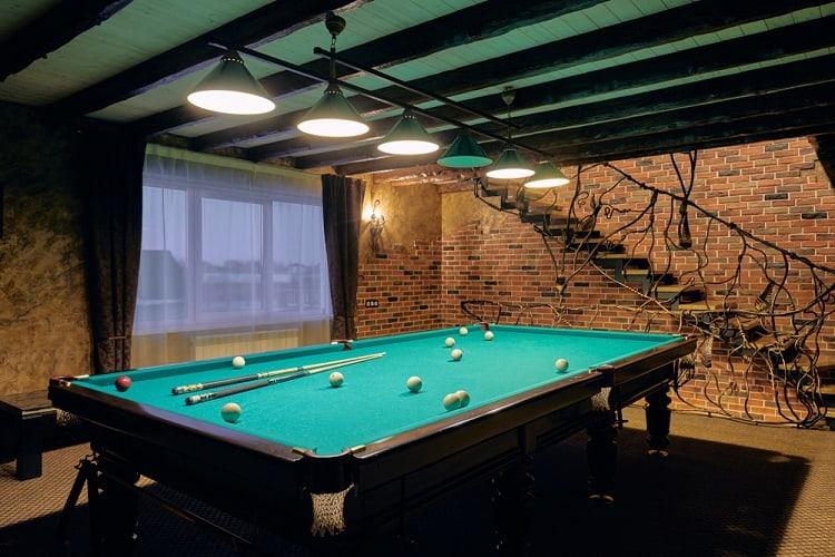 Luxury Living Room Unfinished Basement Ideas