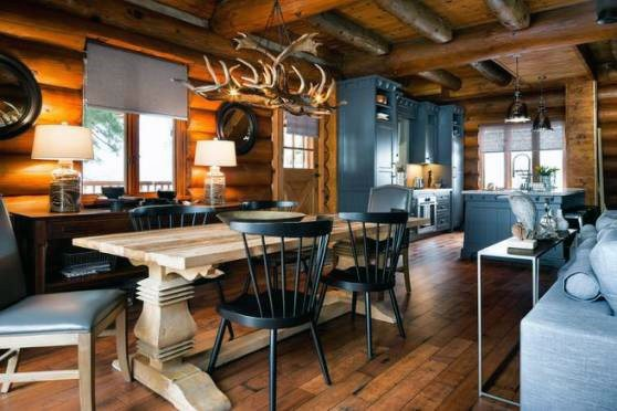 Luxury Log Cabin Interior Design