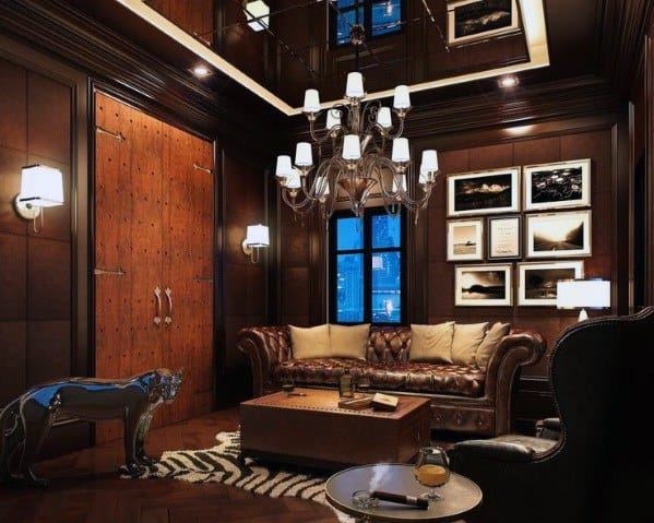 Luxury Lounge Cool Man Cave Ideas For Gentlemen