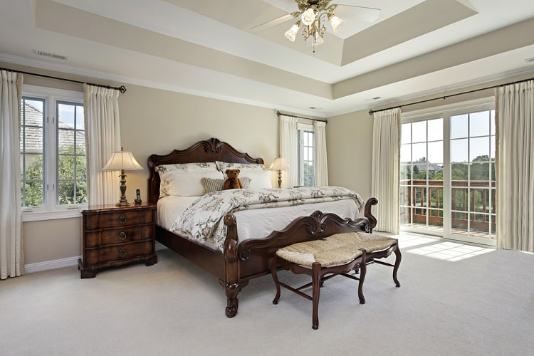 Luxury Master Bedroom Tray Ceiling