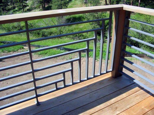Luxury Metal Deck Railing Ideas