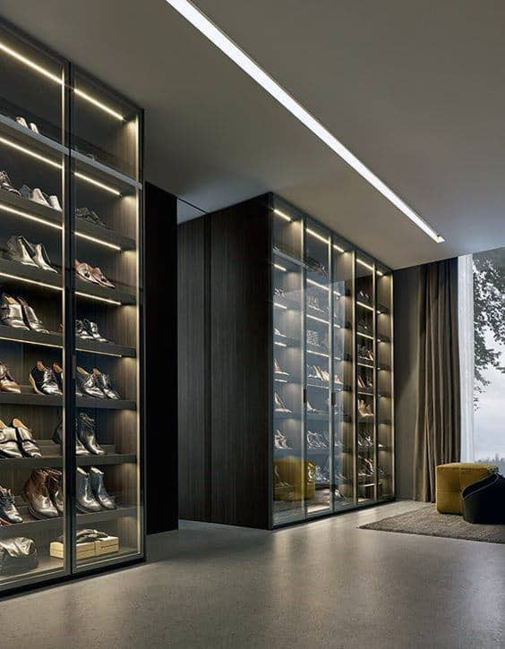 Luxury Modern Closet Guys Design Ideas