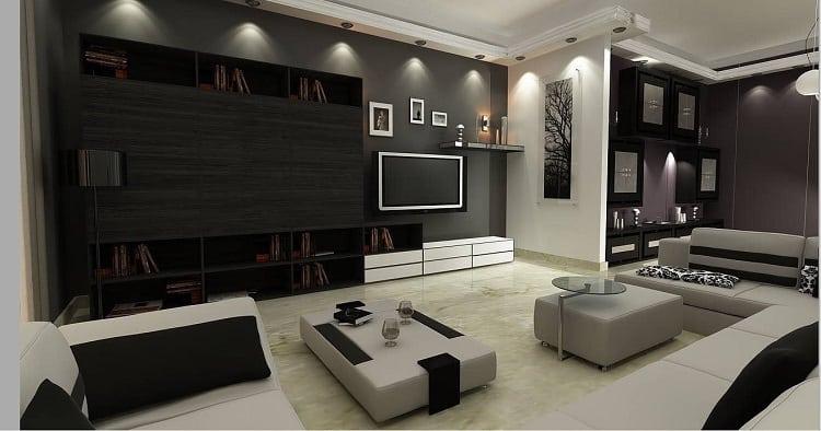 Luxury Modern Entertainment Center (2)