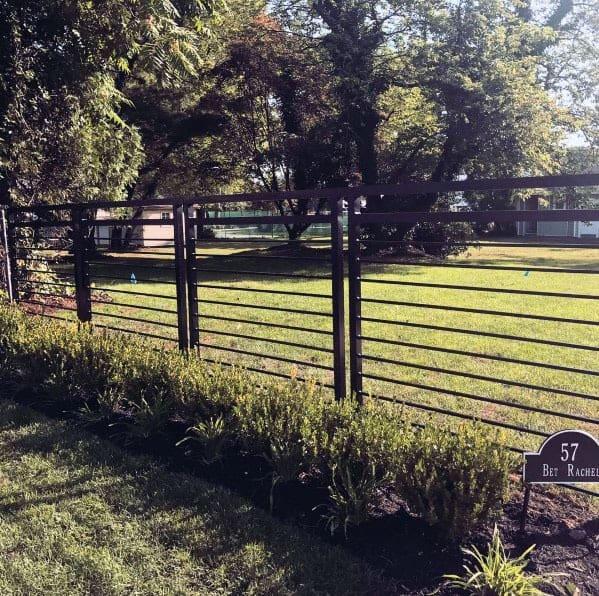 Luxury Modern Fence Metal