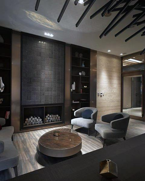 Luxury Modern Guys Cool Man Cave Design Ideas
