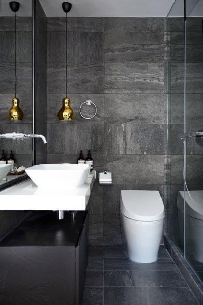 Top 60 Best Grey Bathroom Ideas