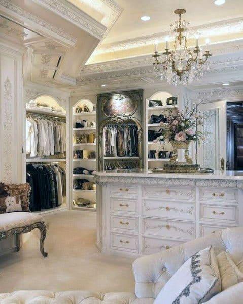 Luxury Ornate Closet Lighting Spectacular Ideas