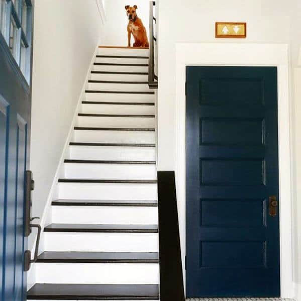 Luxury Painted Stairs Ideas