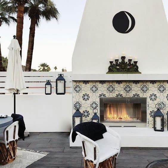 Luxury Patio Fireplace Ideas