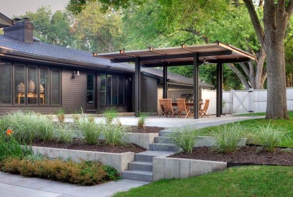 Luxury Patio Roof Metal Construction