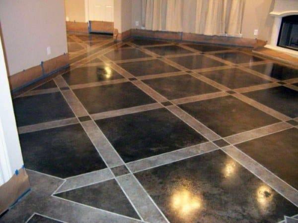 Luxury Pattern Concrete Floor Ideas