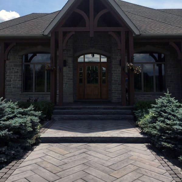 Luxury Paver Walkway