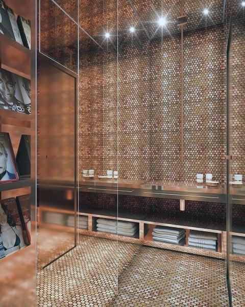 Luxury Penny Floor