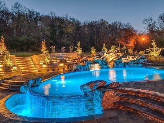 Luxury Pool Lighting Ideas