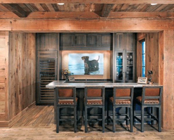 Luxury Rustic Bar Ideas