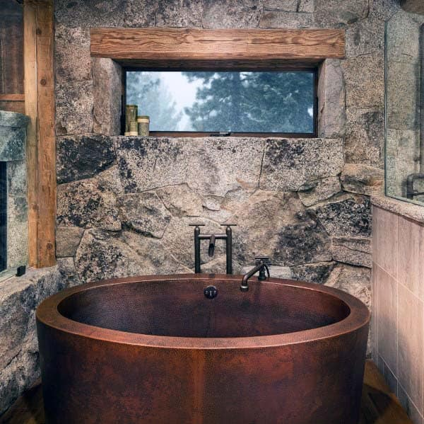 Luxury Rustic Bathroom Ideas
