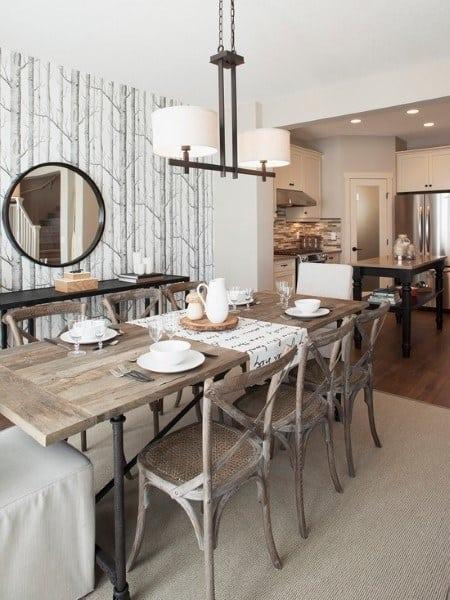 Luxury Rustic Dining Room Ideas