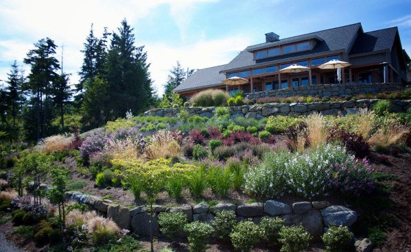 Top 50 Best Slope Landscaping Ideas - Hill Softscape Designs on Backyard Hill Landscaping Ideas id=79129