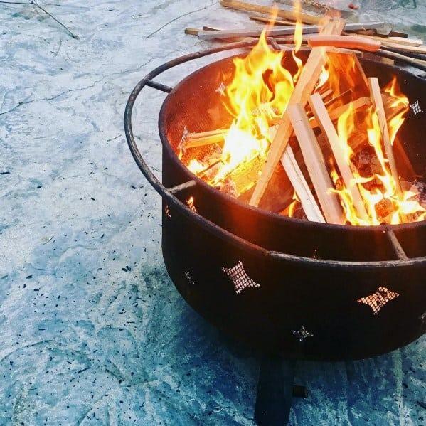 Luxury Steel Fire Pit Ideas