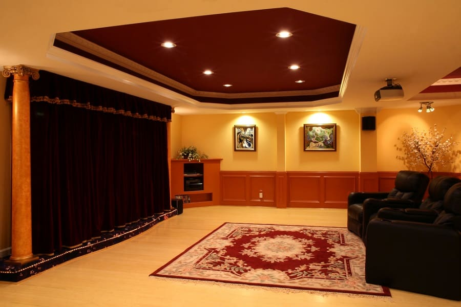 Design Ideas For Home Theater Seating