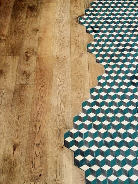 Luxury Tile To Wood Floor Transition