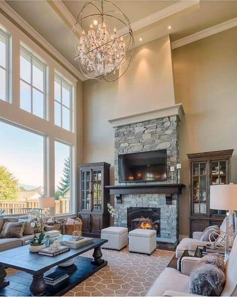 Luxury Traditional Great Room Ideas