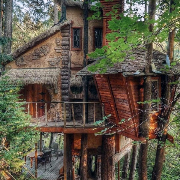 Luxury Treehouse Design Ideas